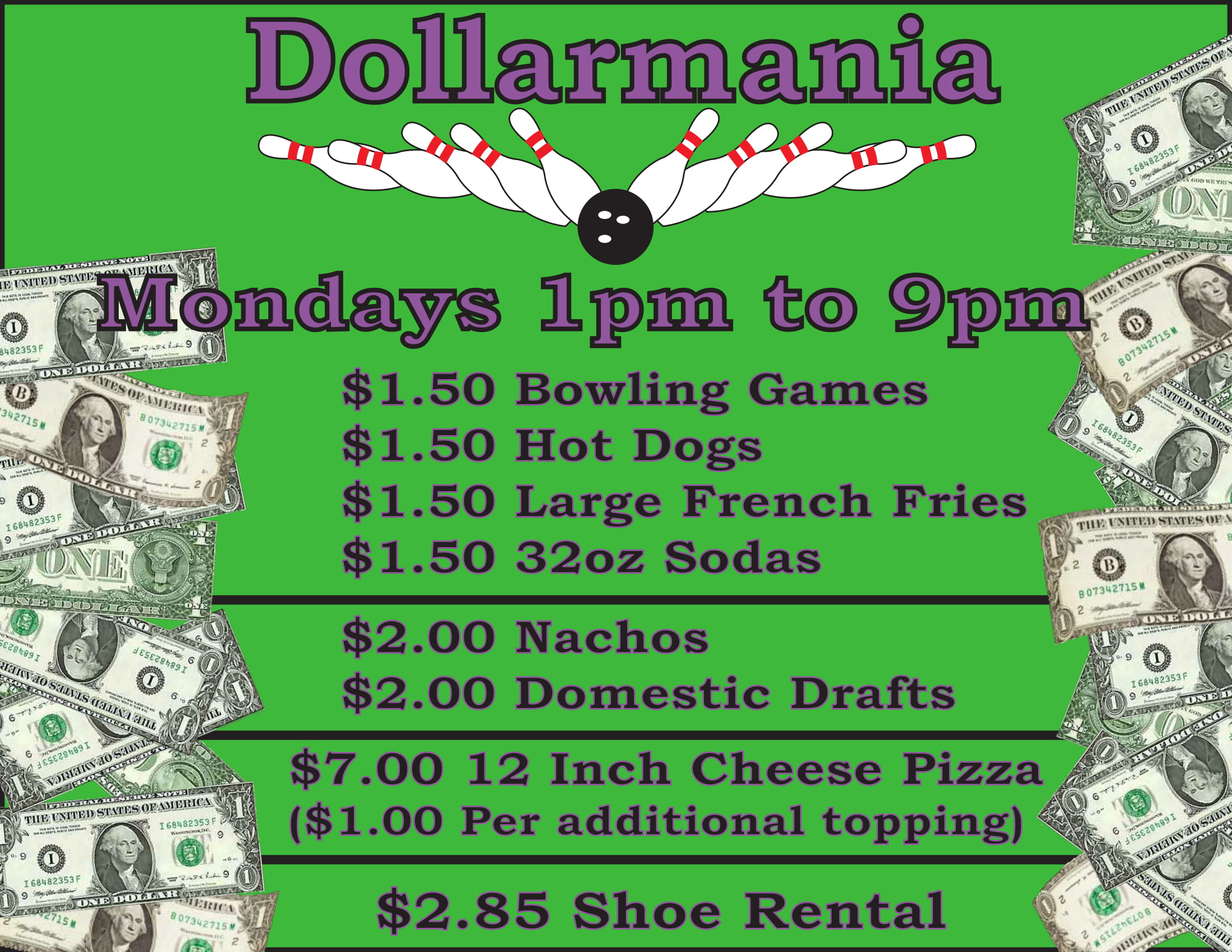 Dollarmania slide 1