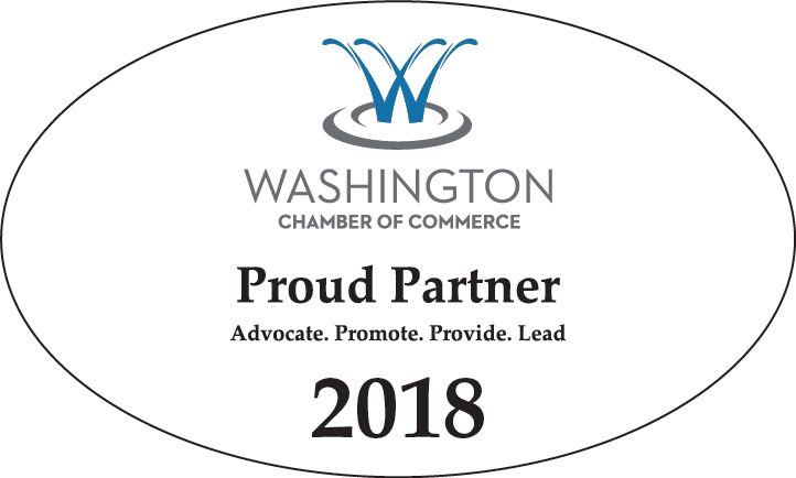 Washington Chamber 2018 decal